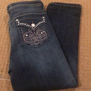 Nine West Vintage America ankle jeans size 10